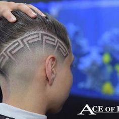 Super Haircut Masculino Vintage 61 Ideas – Pin to pin Trendy Haircuts, Girl Haircuts, Haircuts For Men, Medium Hair Cuts, Short Hair Cuts, Hair Tattoo Designs, Boys Haircut Styles, Hair Designs For Men, Barber Haircuts