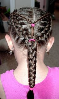 Shaunell's Hair: Little Girl's Hairstyles -The Quad 15-20 min