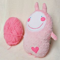 Pinky Milulak is cute and sweet softie with big heart and wide smile. He'd like to cuddle you. He is very soft beacuse his made of fluffy minky. Price: $23