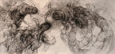 "Contemporary Drawing - """"it"" no 8"" (Original Art from Kamila Szczesna)"