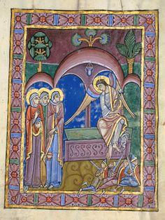 St Albans Psalter. 1st half of 12th Century. England