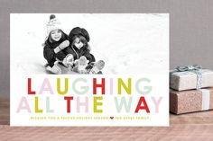 Winter Brights Holiday Photo Cards by toast & laurel at minted.com