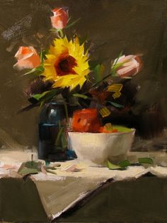 Qiang Huang- Gallery of Paintings by Texas artist Qiang Huang on DailyPainters.com