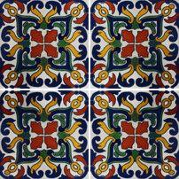 hand painted tiles Sofia