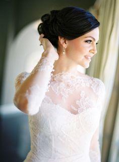 Stunning Napa Valley bride: http://www.stylemepretty.com/2015/11/16/fall-beaulieu-gardens-wedding/   Photography: Jose Villa - http://josevilla.com/