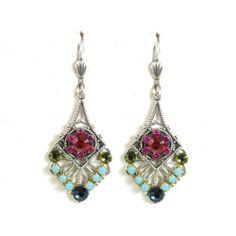 Crystal Deco Earrings