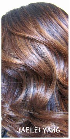 balayage highlights brunette haircolor by jaelei yang