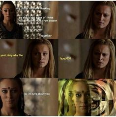 Lexa pick up lines <3