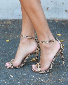 Leopard Cynthia Heel Leopard Sandals 78a05aa6ac94