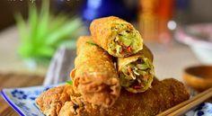 Briouates ou Bricks aux légumes sans viande Une version végétarienne de bourek ou Bricks aux légu...