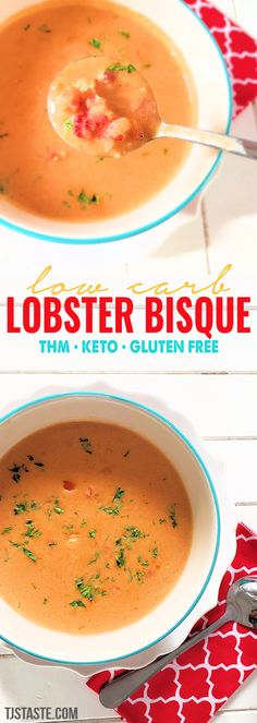 Low Carb Lobster Bisque