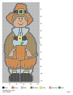 PILGRIM BOY by JODY -- WALL HANGING