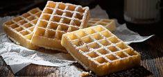 Recette des Gaufres Comme à la Fête Foraine Food Videos, Food Inspiration, Good Food, Lunch, Baking, Breakfast, Cake, Sweet, Desserts