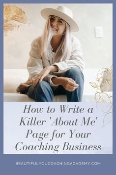 Learn how to write a killer 'About Me' page for your Life Coaching business in 4 easy steps. With these powerful copywriting tips, you'll be on your way to growing your business and booking out… More