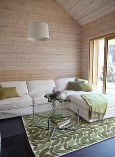 #asuntomessut2015 Honkarakenne Savukvartsi 18 Swedish Decor, Scandi Home, House Yard, Wooden House, Apartment Interior, Detached House, Architecture Design, Sweet Home, New Homes