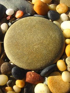 round pebble by *omnia* | Flickr - Photo Sharing!