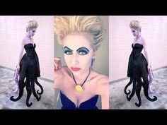 Ursula Costume DIY | Halloween 2016 | Superholly - YouTube