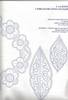 cantu - M Gracia Calahorra - Picasa Web Album Crochet Leaf Patterns, Bobbin Lace Patterns, Crochet Leaves, Lace Embroidery, Embroidery Patterns, Bobbin Lacemaking, Lace Heart, Lace Jewelry, Needle Lace