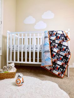 star wars baby crib quilt star wars nursery bedding star wars baby gift