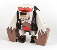Blog Paper Toy papertoy Bear Tougui pic Bear by Tougui