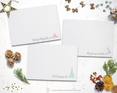 INSTANT DOWNLOAD - Printable Set of 3 Christmas Cards - Holiday Card - Do it yourself Printable Christmas Card by TheSpringRabbit on Etsy
