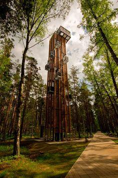 Observation Tower in Jurmala, Latvia.  So creative...