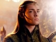('The Hobbit: An Unexpected Journey') Elf from Rivendell.  I like to think of him as one of the twin sons of Elrond.