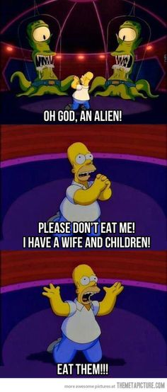 Homer being Homer… The Simpsons never fails to make you giggle!