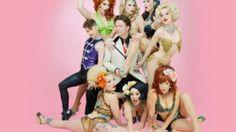 Atomic Bombshells valentine's day show #performanceart #burlesque