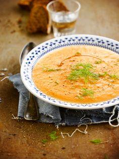 Tomaat-venkelsoep http://www.njam.tv/recepten/tomaat-venkelsoep