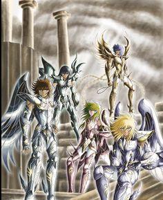 Alors que l'actualité Saint Seiya est toujours vivace, je vous propose aujourd'hui une nouvelle série de fan arts assez connus auprès des fans de la série puisqu'ils proviennent d'un dessinateur une...