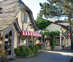 Romantic homes are plentiful in California, thanks to the gorgeous weather that makes nearly everything a little prettier. But it really doesn't get any lovelier than Carmel-by-the-Sea, which looks like a movie set for an enchanting rom-com.
