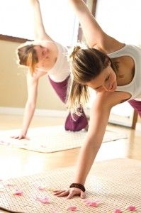 Practice Aroma-Yoga to combine the benefits of aromatherapy and yoga.
