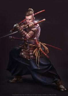 Samurai on Behance