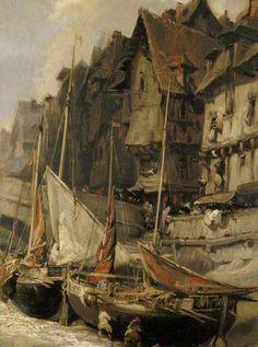 Port Scene -- BBC.co.uk   Eugène Isabey -- French artist