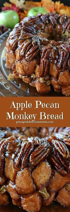 Apple Pecan Monkey Bread