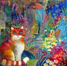 Oxana Zaika - I love this! Reminds me of my Rusty! I love the vibrant colors!