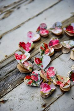 this heart garland belongs on everything