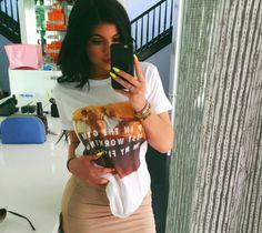 #KylieJenner fait la pub du site #Rad - Livealike