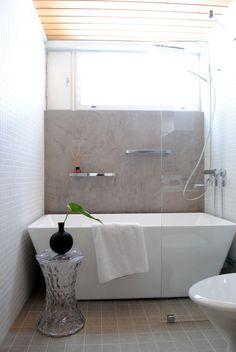 Mikrosementillä ilmettä kylpyhuoneeseen