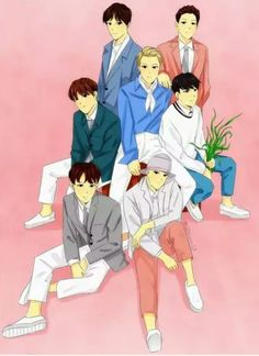 Btob, Sungjae, Minhyuk, Chibi, Art Ideas, Fanart, Family Guy, Anime, Fictional Characters