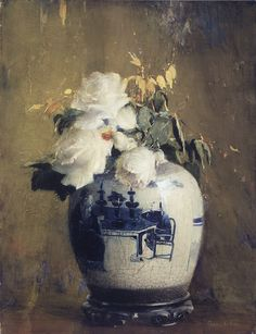 Anna S. Fisher The white roses,