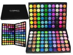 Paleta De Sombras Mac 120 Cores - Mod. B - M.a.c - No Brasil - $135.00