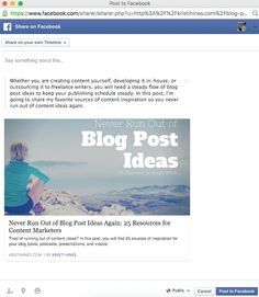 New Facebook Sharing Options: What Marketers Need to Know—Details>