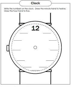 ... analogicos para aprender la hora diciendo que hora es. Que hora es. 1