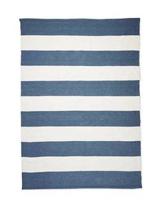 """Search Results for """"serena lily lido stripe allweather rug – domino Patio Furniture For Sale, Navy Bedding, House By The Sea, Striped Rug, Outdoor Rooms, Outdoor Dining, Inspired Homes, Great Rooms, Area Rugs"""