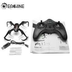 Eachine E20 3D Mini Spider Inverted Flight 2.4G 4CH 6-Axis LED RC Quadcopter RTF Sale - Banggood.com