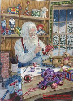 Ruth Sanderson Santas Christmas More Information Romantic Country Coloring Book