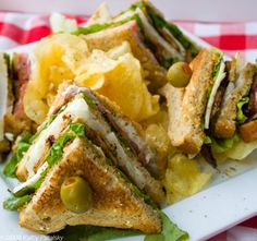 :Vegan Club Sandwich #meatlessmonday: