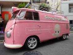 VW Bus 1958 Sonny Angel Cafe